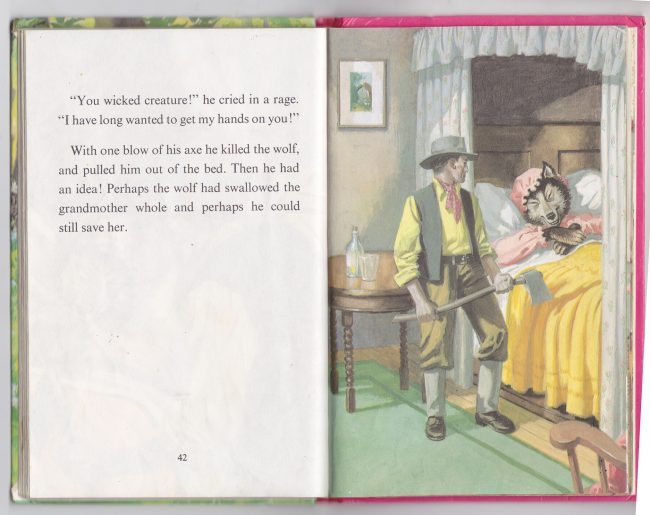 Ladybird book illustrations by Eric Winter (1985-6)
